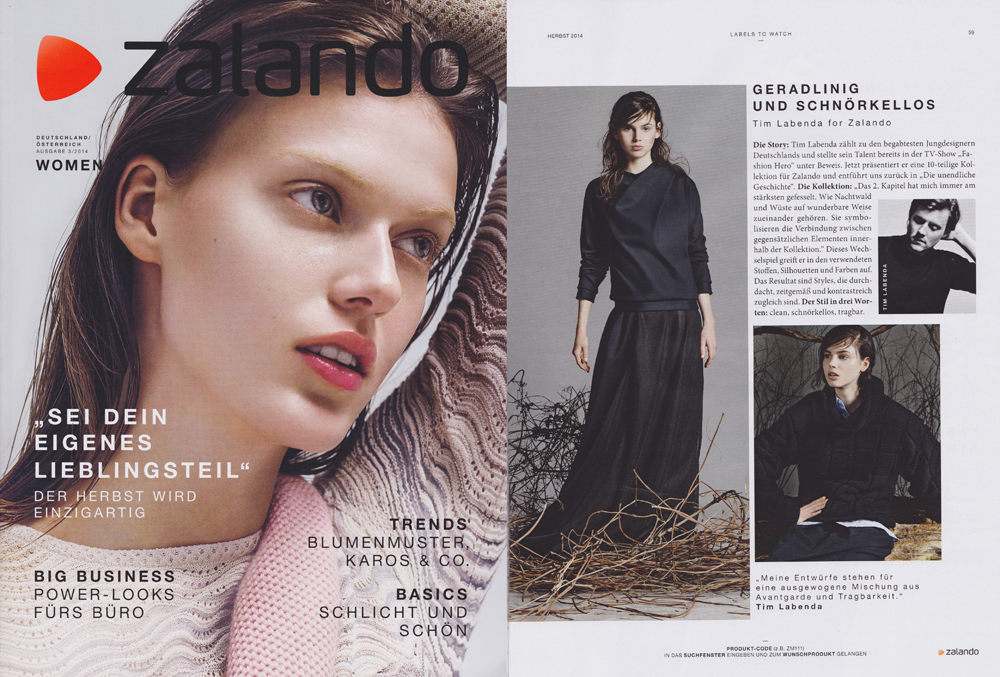 ZALANDO Magazin September 2014 -